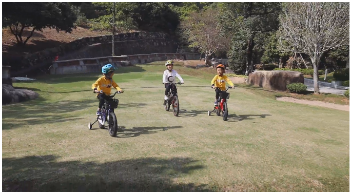 高端镁合金青少年系列自行车